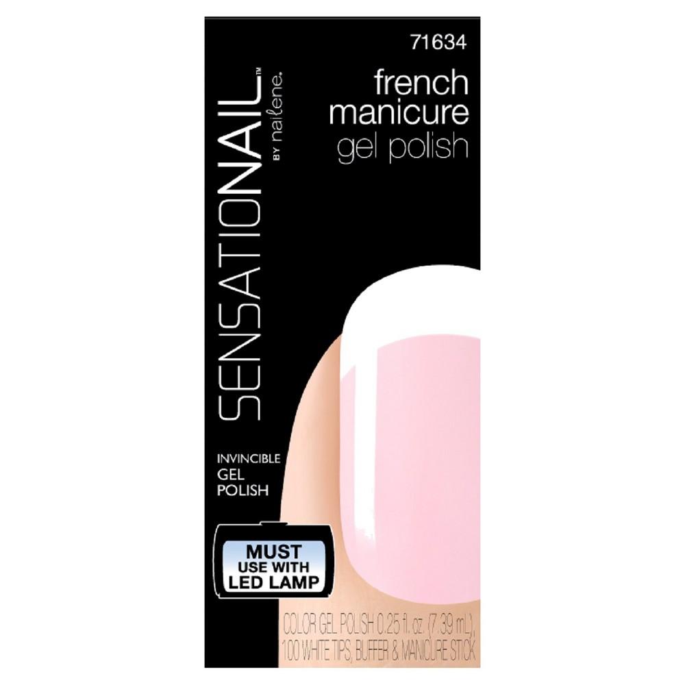 SensatioNail Gel Polish French Manicure Kit - Sheer Pink