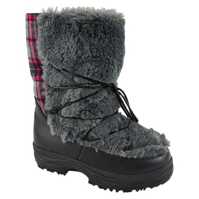 Women's MUK LUKS® Alaska Short Snow Boot - Grey