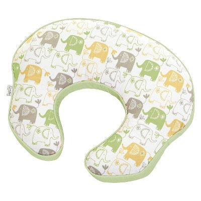 Comfort & Harmony mombo Covered Nursing Pillow - Deluxe Enchanting Elephants