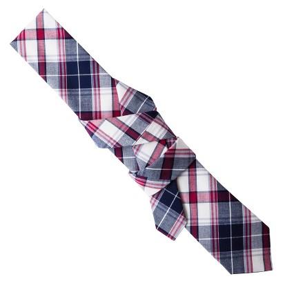 Merona® Men's Navy Plaid Tie