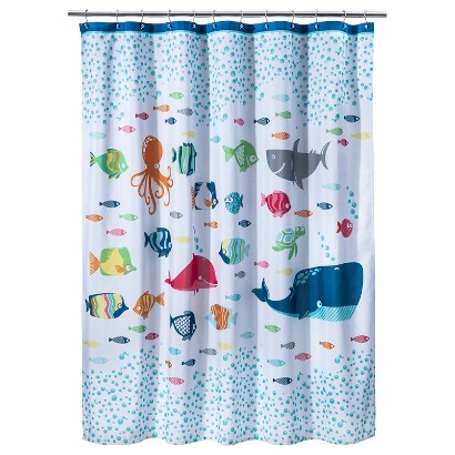 CircoTM Fish Shower Curtain Target