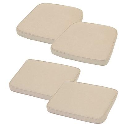 Threshold™ Loft 4-Piece Outdoor Replacement Patio Cushion Set