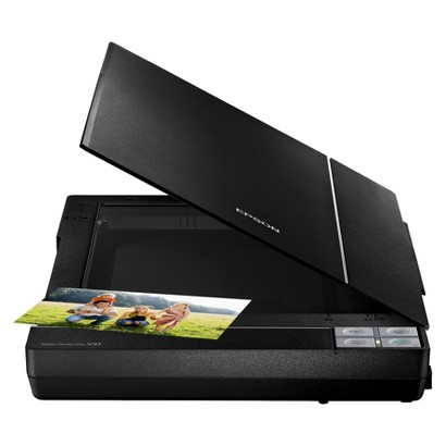 Epson Perfection V37 Flatbed Design Scanner - Black (B11B207201)