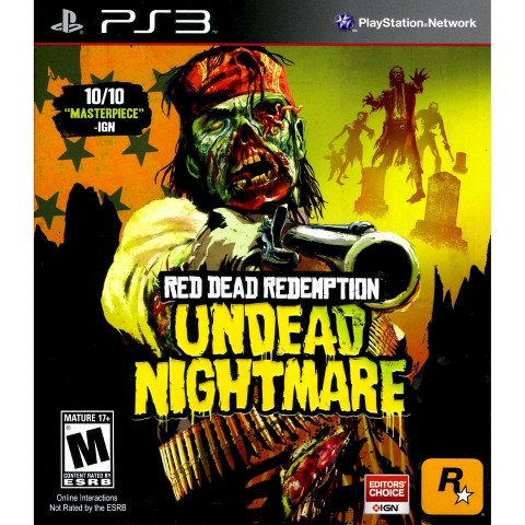 Red Dead Redemption Undead Nightmare PRE-OWNED (PlayStation 3)
