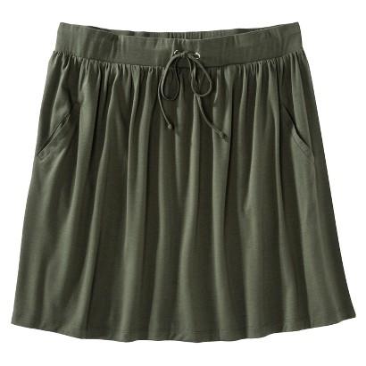 Women's Plus Size Front Pocket Knit Skirt-Merona®