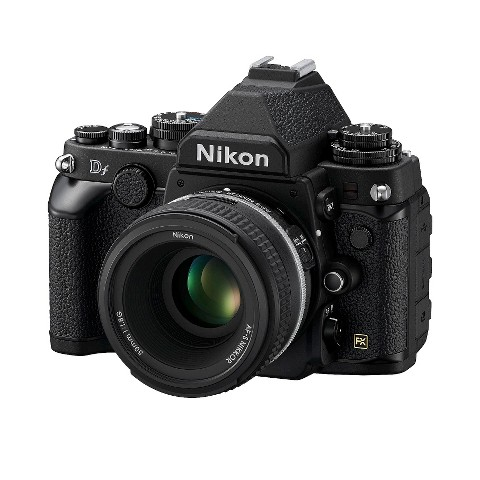 Nikon Df 16.2MP Digital SLR Camera with AF-S 50mm f/1.8G Lens - Black