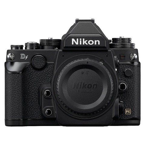 Nikon Df 16.2MP Digital SLR Camera Body - Black