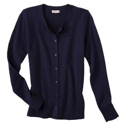 Merona® Women's Ultimate Long Sleeve Crew Neck Cardigan - Solids