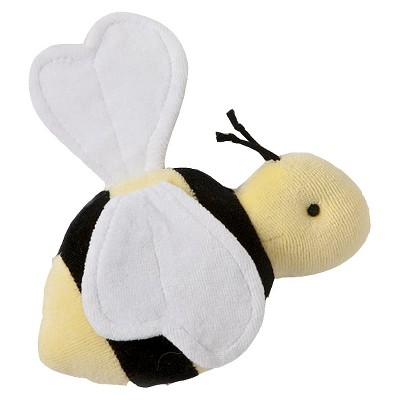 Burt's Bees Baby Velour Bee Rattle