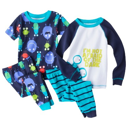 Just One You® made by Carter's Infant Toddler Boys' 4-Piece Monster Pajama Set