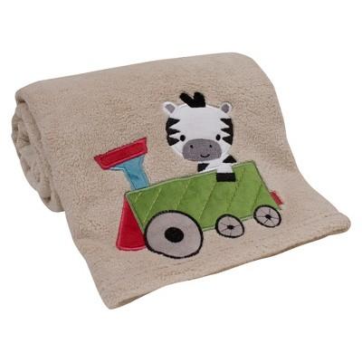 Lambs & Ivy Choo Choo Baby Blanket