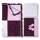 Lambs & Ivy Little Jewel 3pc Baby Girl Bedding Set