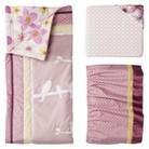 Lambs & Ivy Calliope 3pc Baby Girl Bedding Set