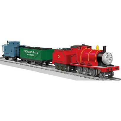 "Lionel Trains Thomas and Friends ""James"" LionChief Ready to Run Set"