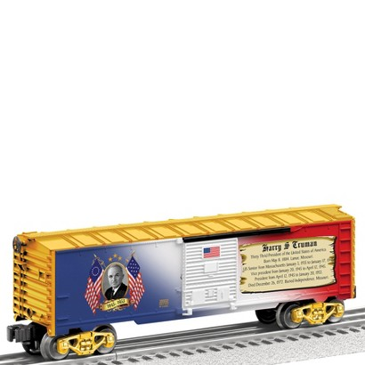 """Lionel Trains Made in the USA """"Presidential Series"""" Boxcar - Harry Truman"""