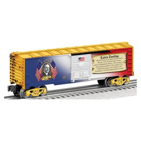 """Lionel Trains Made in the USA """"Presidential Series"""" Boxcar Calvin Coolidge"""
