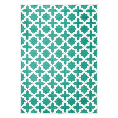 Threshold Indoor/Outdoor Area Rug - Turquoise (5'x7')