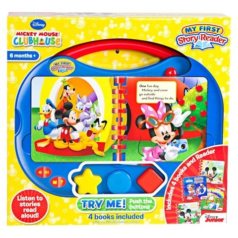 Disney Junior Mickey Mouse Clubhouse My First Story Reader 2.0
