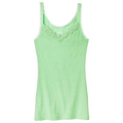 Lace Trim Long & Lean Tank - Mossimo Supply Co.