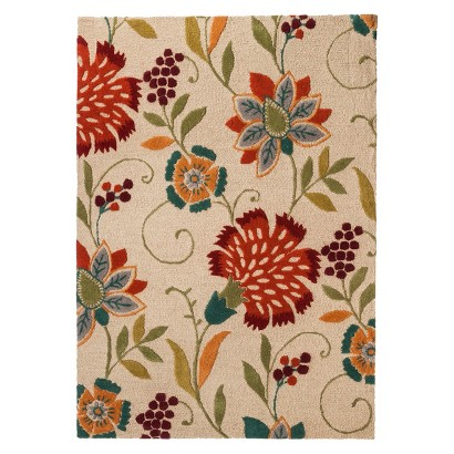 Threshold™ Floral Wool Area Rug