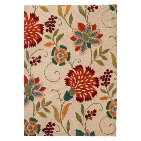 Threshold™ Floral Wool Area Rug