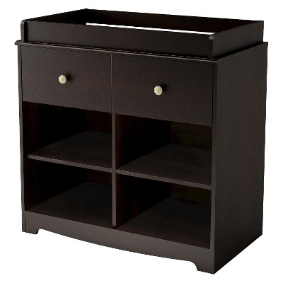 South Shore Little Teddy Changing Table - Espresso