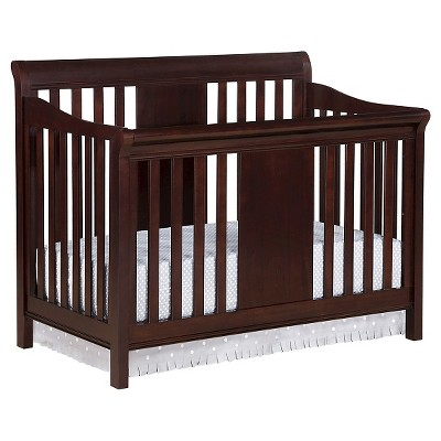Eddie Bauer® Port Townsend 4-in-1 Convertible Crib - Black Cherry