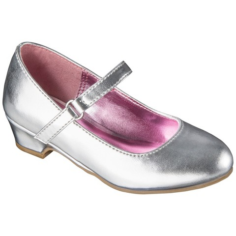 Toddler Girl's Cherokee® Darianne Mary Jane Shoes - Silver