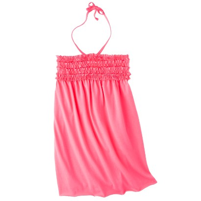 Girls' Swim Halter Bandeau Cover Up Dress