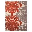 Threshold™ Exploded Damask Area Rug - Coral/Gray