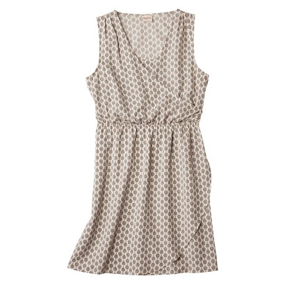 Merona® Women's Woven Drapey Crossover Dress - Assorted Prints