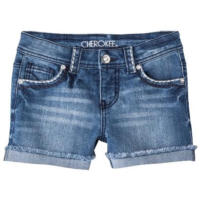 Cherokee® Girls' Jean Shorts -  Blue