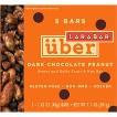 Larabar Uber Dark Chocolate Peanut Fruit & Nut Bar - 5 Count