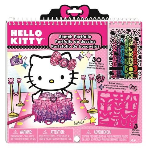 Hello Kitty Portfolio Art Set