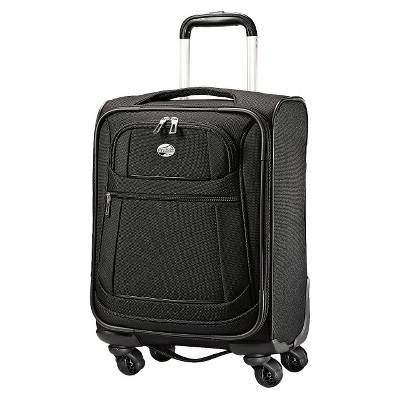 "American Tourister 16"" DeLite 2.0 Carry On Spinner Luggage - Black"