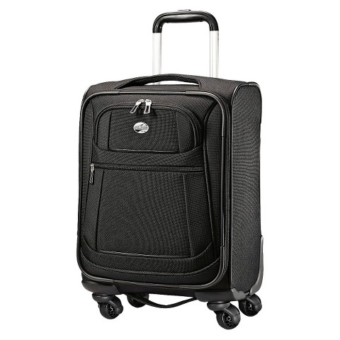 American Tourister 17' DeLite 2.0 Spinner Suitcase - Black