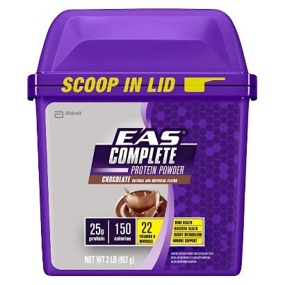 EAS® Complete Protein Chocolate Nutrition Shake Powder - 32 oz
