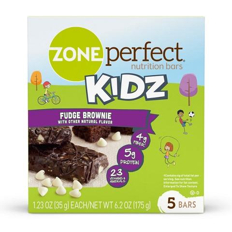ZonePerfect® Kidz Fudge Brownie Nutrition Bars - 5 Count