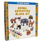 Kid Made Modern Day at the Zoo Animal Blocks