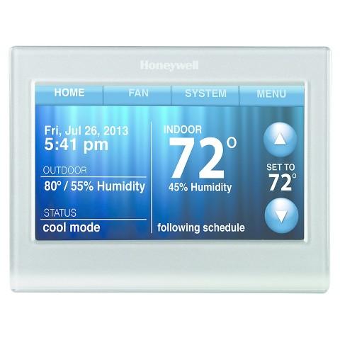 honeywell wi fi smart thermostat target. Black Bedroom Furniture Sets. Home Design Ideas