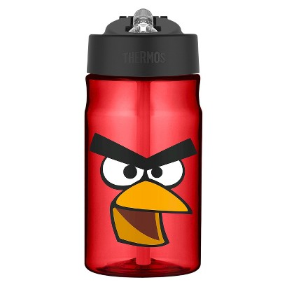 Thermos Angry Birds Tritan Straw Bottle (12oz)
