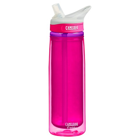 CamelBak Eddy Insulated Water Bottle - Flamingo Pink (0.6L)