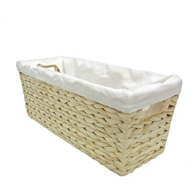 Toilet Tank Bath Basket Bleached Threshold™