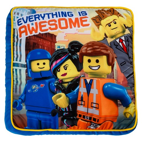 LEGO Movie Decorative Pillow - Everything is Awesome
