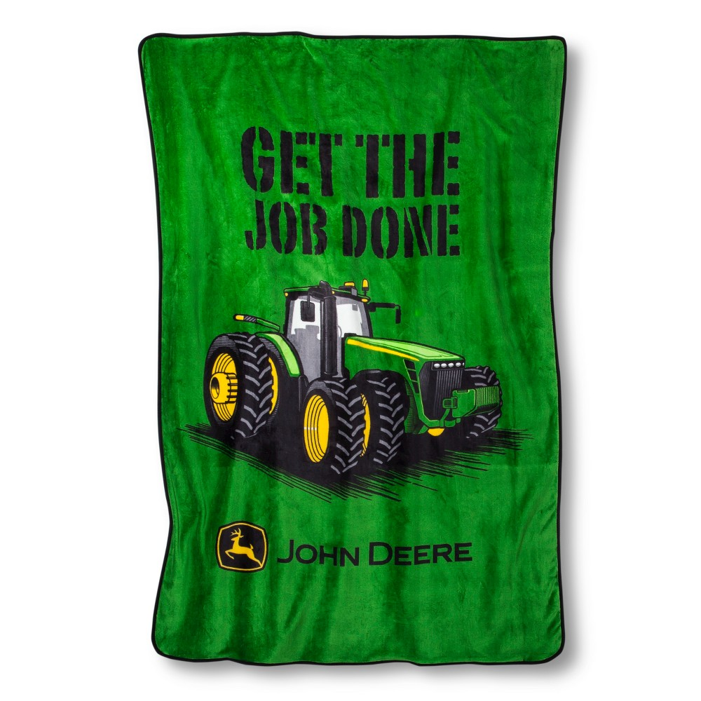 UPC 032281286026 product image for Johh Deere Plush Blanket - 60 x 90 ...