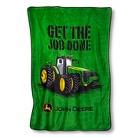 Johh Deere Plush Blanket - 60 x 90 Inches