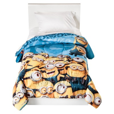 Universal Studios Despicable Me Minions Comforter - Multicolor (Twin)
