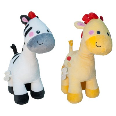 Fisher-Price Musical Waggy Toy - Zebra & Giraffe