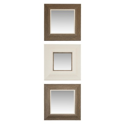 Threshold™ Roxey Mirror 3 Pack - Gray/Ivory