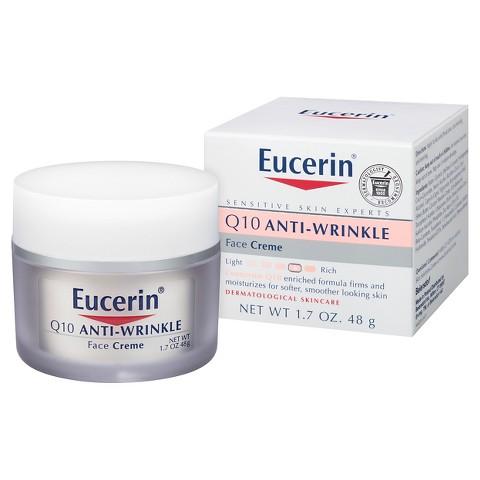 Eucerin® Q10 Anti-Wrinkle Sensitive Skin Crème - 1.7 oz